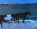Moonlit Wild Horses SOLD