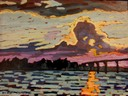 Solomons Island Sunset SOLD